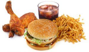 Fastfood - nguyên nhân của bệnh chàm bội nhiễm và hen suyễn